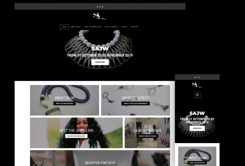 SA Jewellery Week Website